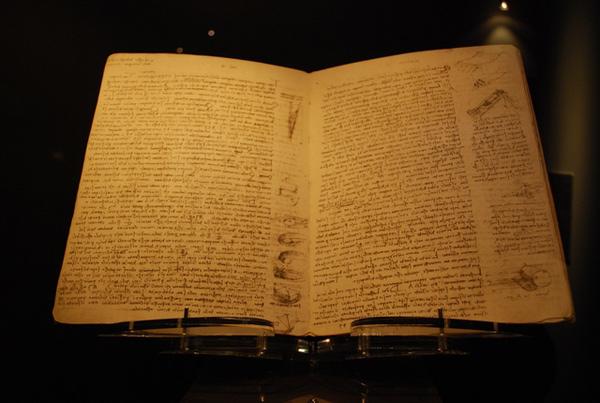 Cuốn sách Codex Leicerster của Leonardo da Vinci đắt nhất thế giới