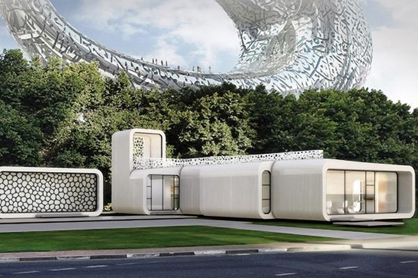 Tòa văn phòng in 3D đầu tiên trên thế giới