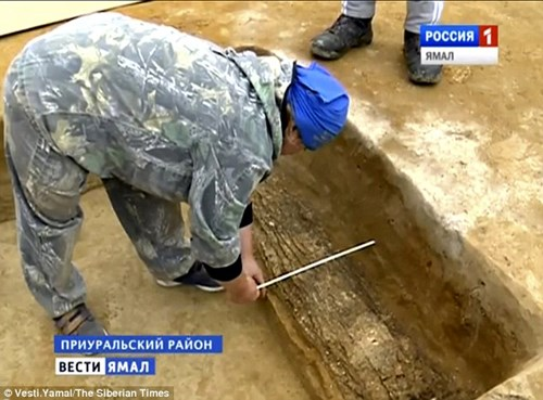 Phát hiện xác ướp Trung cổ bí ẩn trong vỏ cây