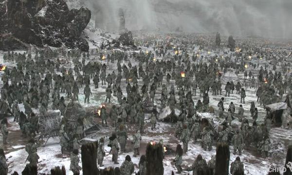 Bật mí kỹ thuật tạo ra đội quân xác sống trong Game of Thrones