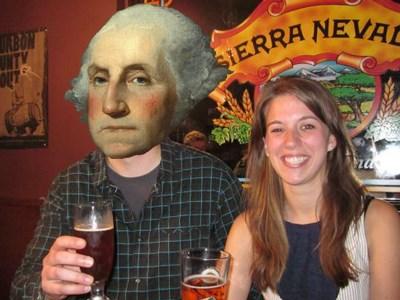 Công thức bia độc đáo của Tổng thống Mỹ George Washington