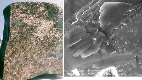 Ngọc sao Hỏa chứa hóa thạch sinh vật ngoài hành tinh?