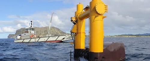 Mỹ sắp vận hành nhà máy điện khai thác năng lượng sóng biển