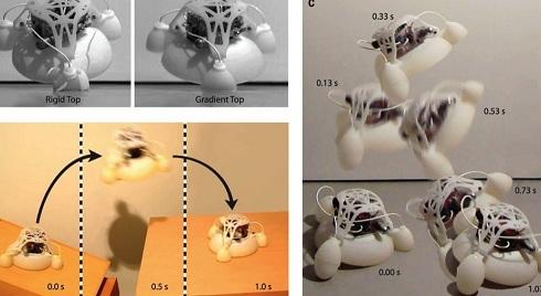 Mỹ thiết kế robot in 3D biết biến hình và nhảy cao