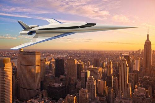 Phản lực cơ siêu âm S-512 bay nhanh gấp 1,8 lần tốc độ âm thanh