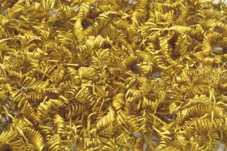 Phát hiện hàng nghìn cuộn vàng 3.000 năm tuổi ở Đan Mạch