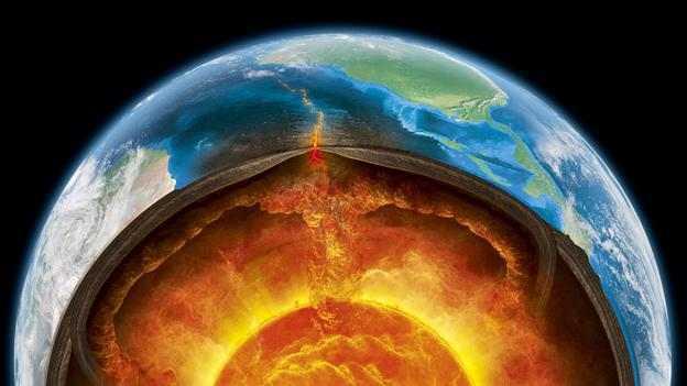 Đại dương rộng lớn cách mặt đất 644km?