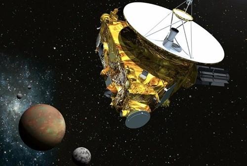 Bất ngờ phát hiện núi băng khổng lồ trên sao Diêm Vương