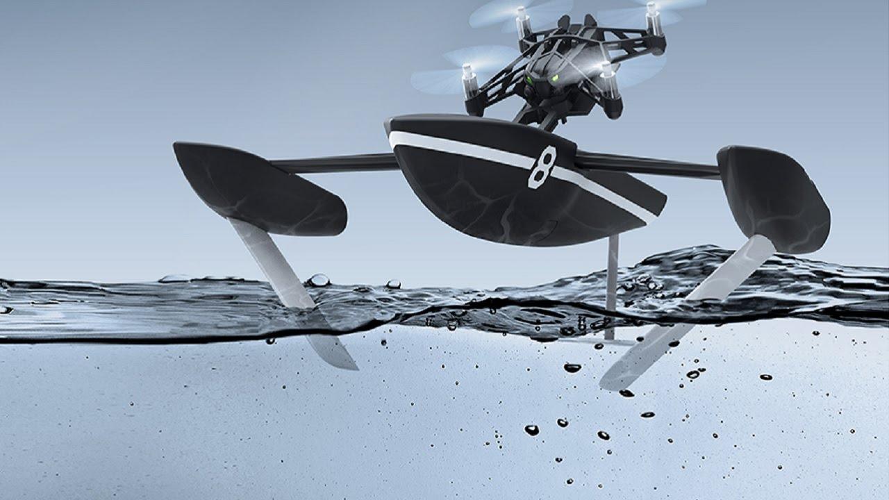 Pháp ra mắt thiết bị không người lái bay - bơi đều được