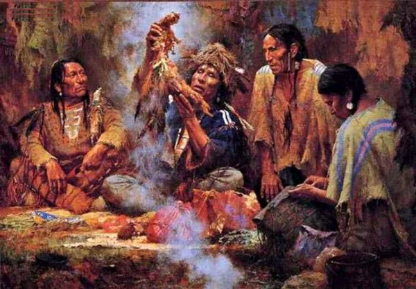 Nghi lễ Wysoccan của bộ lạc Algonquin