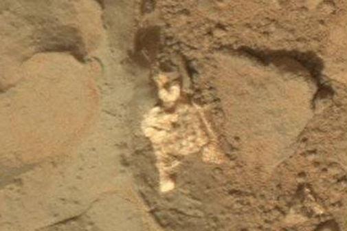 Phát hiện xương người ngoài hành tinh trên sao Hỏa?