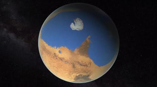 Lục địa giống Trái đất có thể từng tồn tại trên sao Hỏa