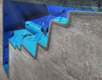 Anh xây hồ bơi sâu nhất thế giới
