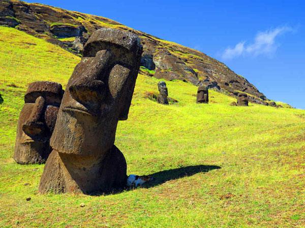 Khám phá chấn động về phần thân dưới tượng đá đảo Phục Sinh