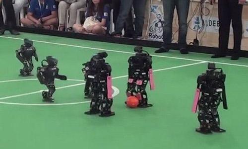 RoboCup - Cúp bóng đá thế giới dành cho robot