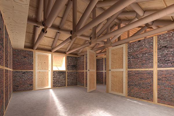 Dùng xà bần từ vụ động đất Nepal để xây nhà