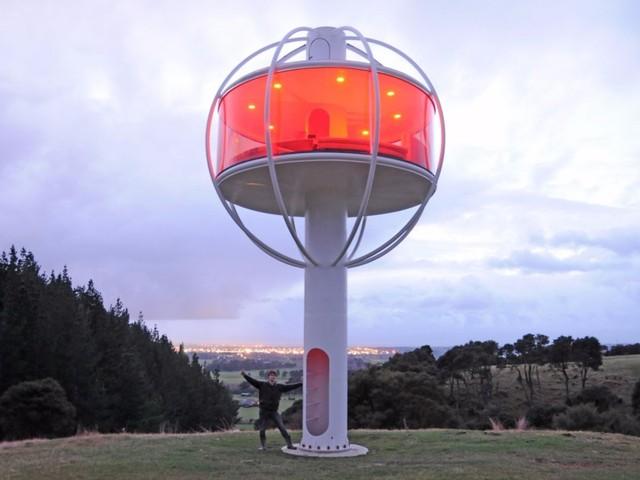 Ngôi nhà trên cao của Doraemon đã xuất hiện ngoài đời thực ở New Zealand