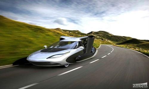Italy công bố thiết kế xe bay cất hạ cánh thẳng đứng