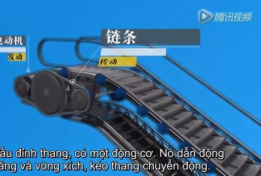 """Nguyên nhân thang cuốn """"nuốt người"""" ở Trung Quốc"""