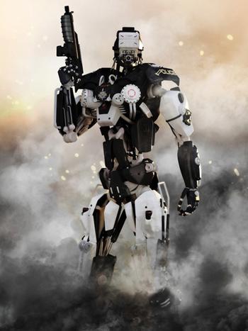 """Giáo sư vật lý Hawing cảnh báo """"robot giết người"""""""