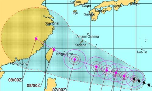 Siêu bão mạnh nhất năm tiến thẳng Nhật Bản và Trung Quốc