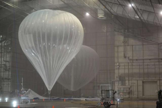 Google phủ sóng Internet bằng khinh khí cầu