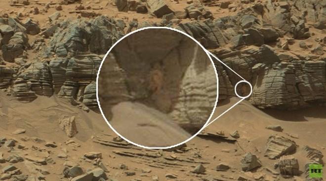 """NASA phát hiện ra """"người ngoài hành tinh"""" trên sao Hỏa?"""