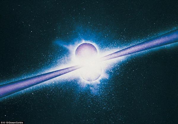 Vòng tròn bí ẩn 5 tỷ năm ánh sáng lớn nhất vũ trụ