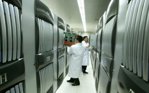 Siêu máy tính không gian ngừng hoạt động vì vụ nổ Thiên Tân