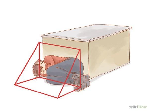 Tránh xa cửa kính và các vật dụng dễ vỡ