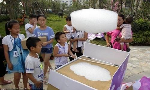 Máy làm mây nhân tạo ở Trung Quốc