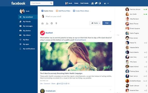 Hướng dẫn cách đổi giao diện phẳng cho Facebook trên máy tính