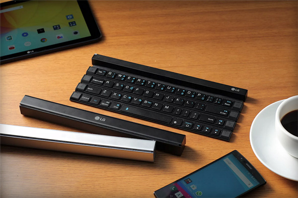 LG Rolly Keyboard: Bàn phím cuộn như cuộn chiếu