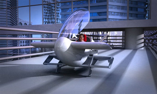 Chùm ảnh về những chiếc xe bay thế kỷ 21