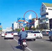 Video: Cầu lửa lướt qua bầu trời Thái Lan giữa ban ngày