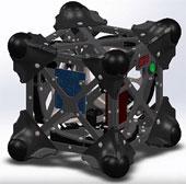 """NASA tiết lộ robot """"Con nhím"""" thám hiểm vũ trụ"""