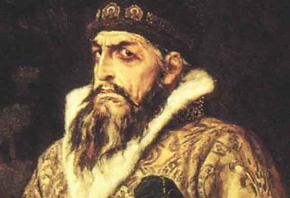 Sa hoàng Ivan IV Vasilyevich