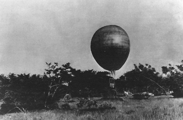 Chiếc khinh khí cầu xuất hiện sau 36 năm mất tích bí ẩn.