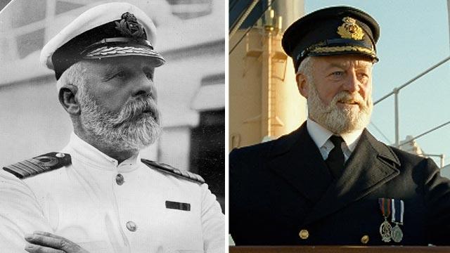 Thuyền trưởng Smith của tàu Titanic.