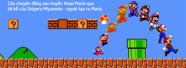 History and evolution of the game Mario
