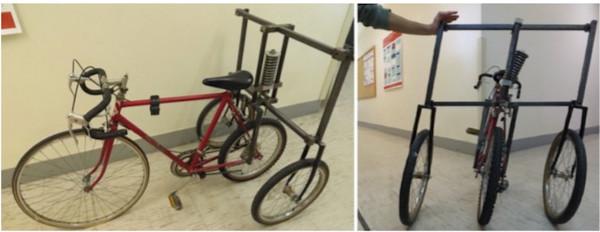 Làm thế nào xe đạp có thể đứng thẳng mà không bị ngã?