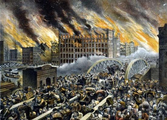 Vụ hỏa hoạn lớn nhất lịch sử ở Chicagô