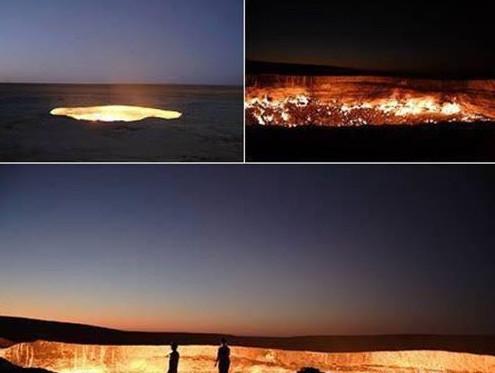 Cánh cửa địa ngục suốt 37 năm vẫn cháy không ngừng tắt