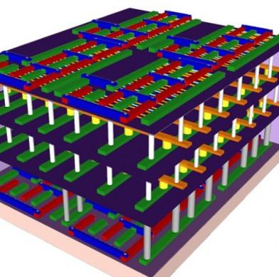 Chế tạo chip 3D nhanh nhất thế giới