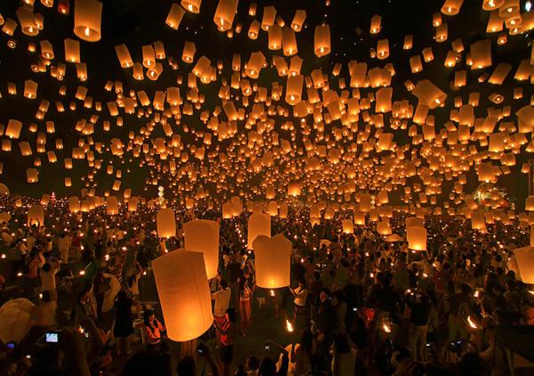 """Thái Lan – Trung thu là """"Tết cầu trăng"""""""