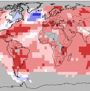 Biến đổi khí hậu khiến nhiệt độ bề mặt nước biển tại Greenland thấp bất thường