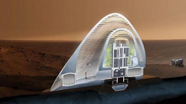 Mẫu nhà ở lý tưởng trên sao Hỏa