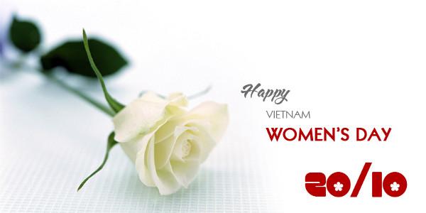 Ngày 20/10 được xem là ngày kỷ niệm và tôn vinh phụ nữ Việt Nam