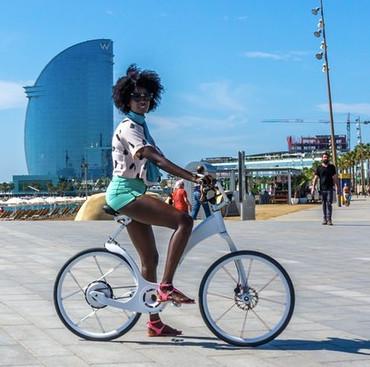 Gi Flybike: Xe đạp điện gấp gọn chỉ trong... một nốt nhạc
