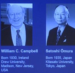 Nobel Y học 2015 dành cho nhà nghiên cứu chống ký sinh trùng